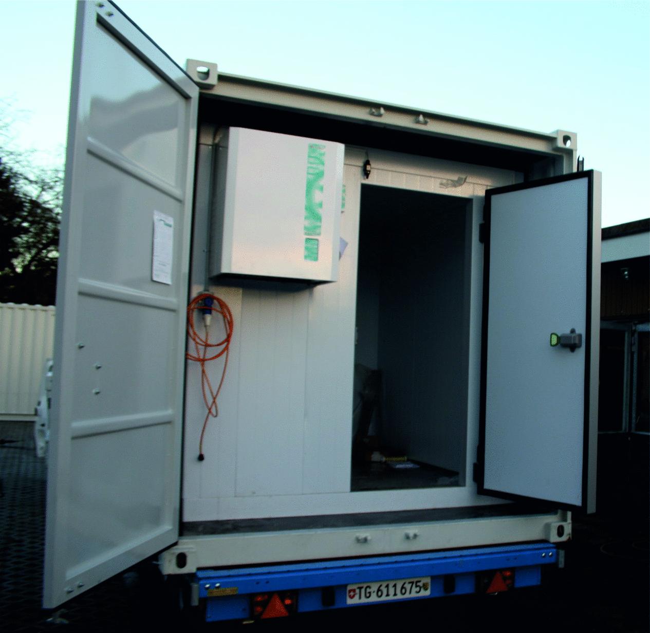 Kühlcontainer Tiefkühlcontainer Wemo Mobile Kälte Alles Rund